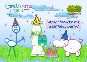 Jesus Throwed Me a Birthday Party