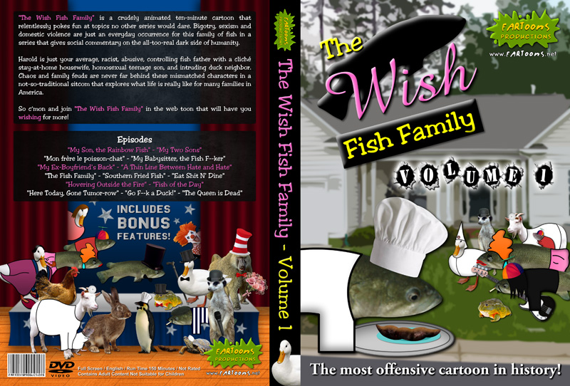 The Wish Fish Family DVD