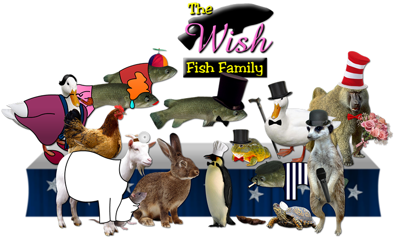 The Wish Fish Family Gang